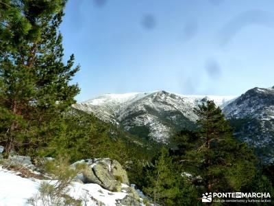 Siete Picos - Valle la Fuenfría; viaje febrero; actividad senderismo desde Madrid